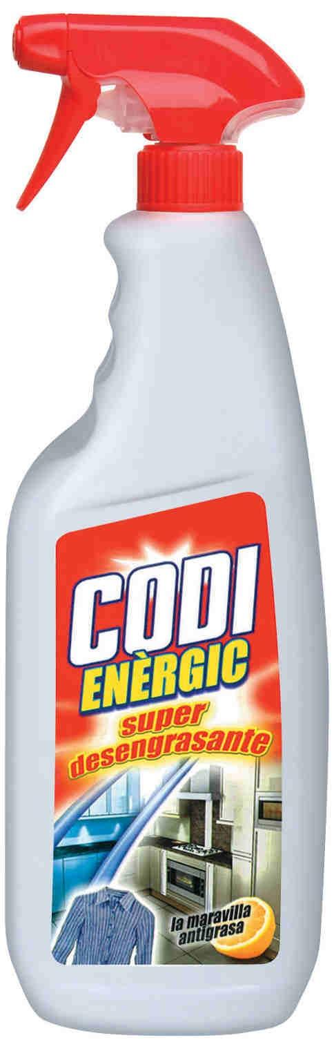 Dégraissant Codi Energic 750ml carton de 12 unités